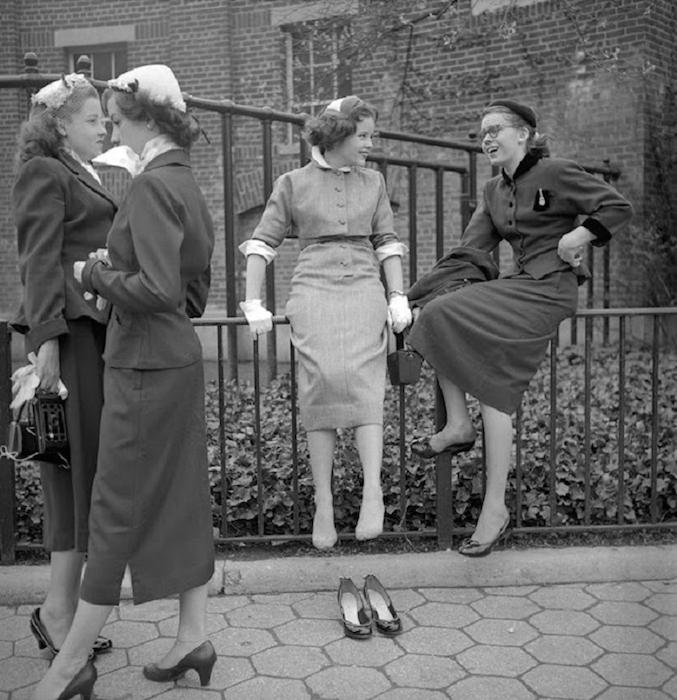 Редкие снимки Нью-Йорка 1950-х годов