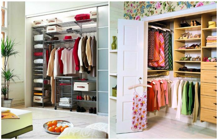 15 практичных идей для мини-гардеробной