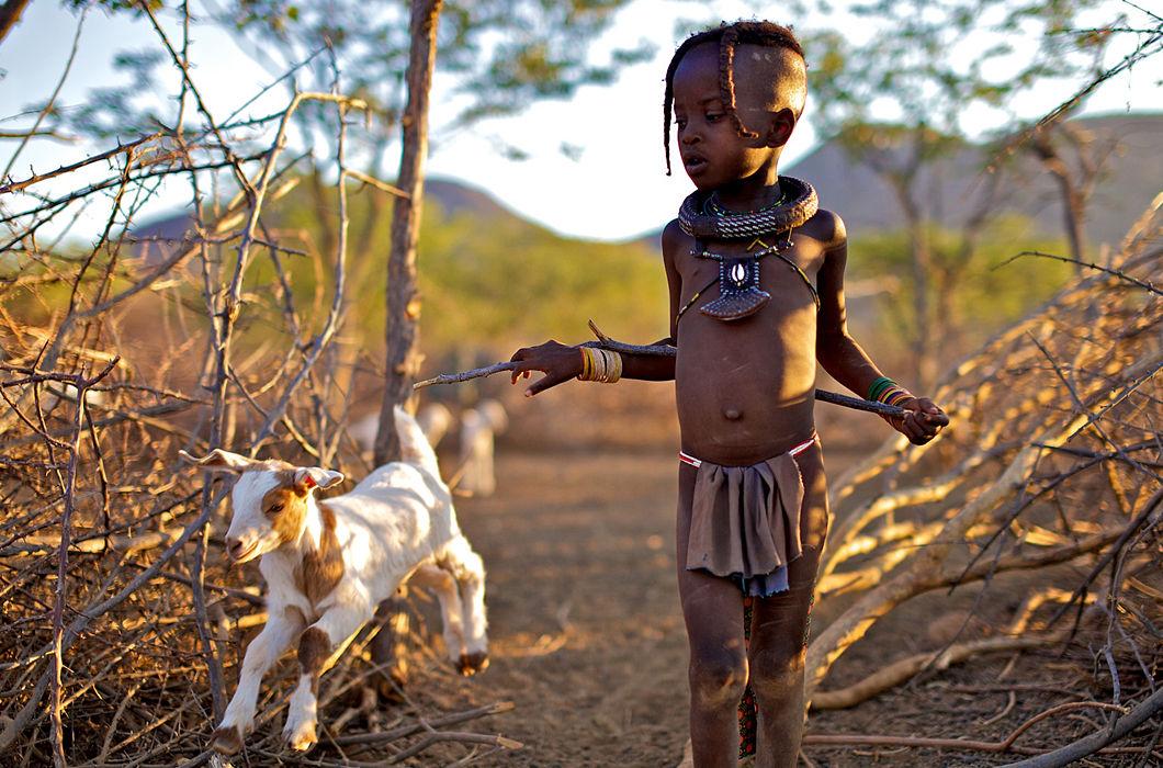 Фотопроект о женщинах племени химба