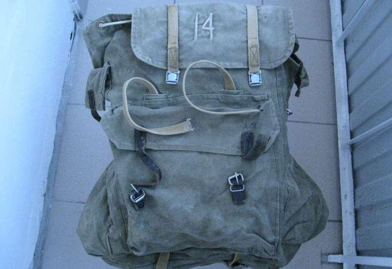 Из истории походных рюкзаков в СССР