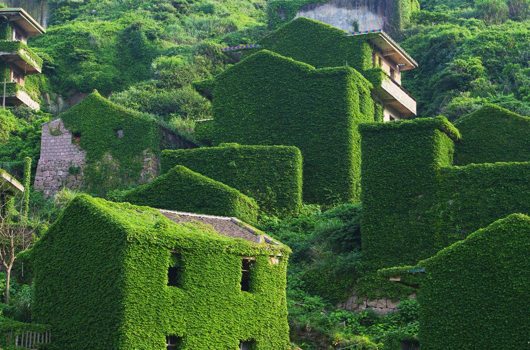 Красота заброшенных деревень мира
