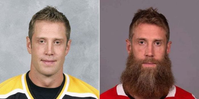 Как изменились хоккеисты NHL, когда отрастили бороды