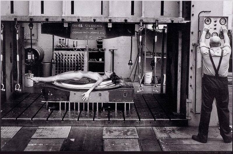 Нестандартные снимки от Хельмута Ньютона