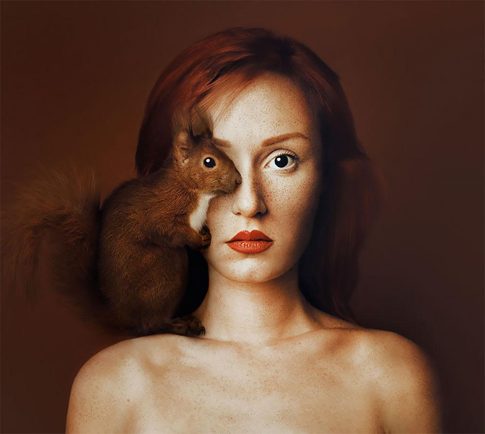 Портреты с животными от фотографа из Венгрии