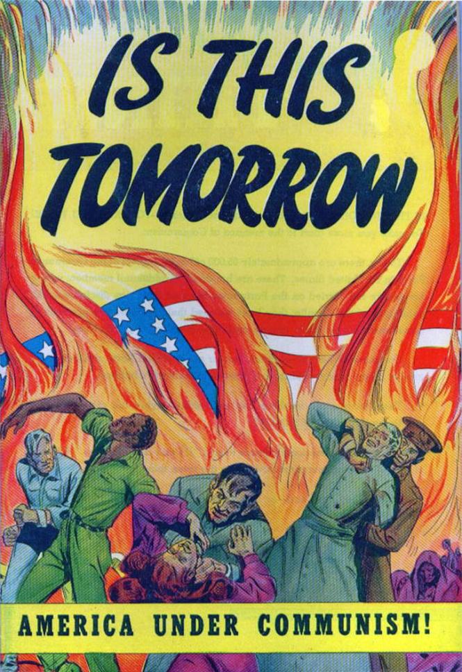 Самые странные антисоветские плакаты Запада