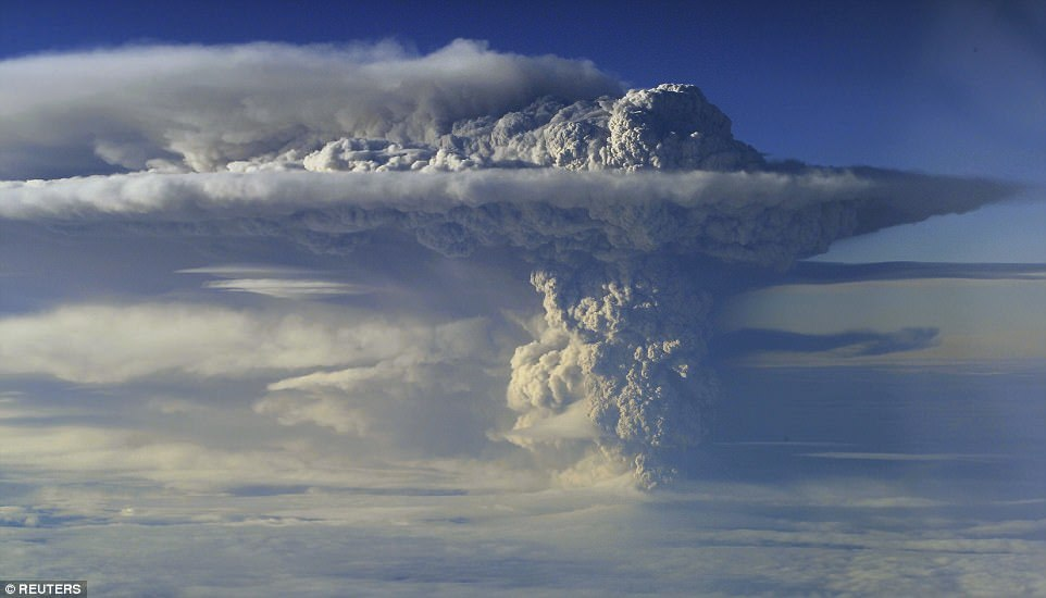 Зрелищные извержения вулканов последних лет