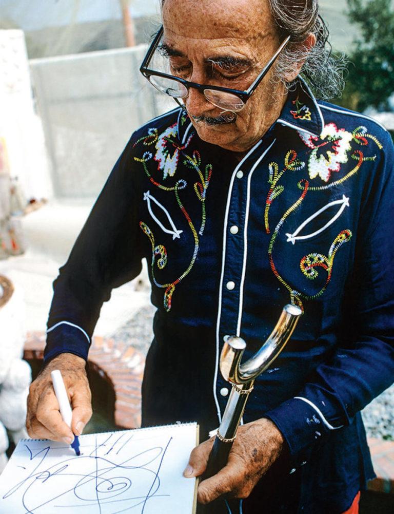 Как Сальвадор Дали участвовал в фотосессии для Плейбоя