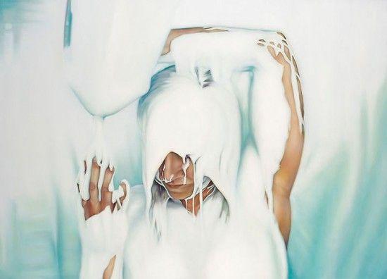 Рисунки маслом Анны Терезы Фернандес