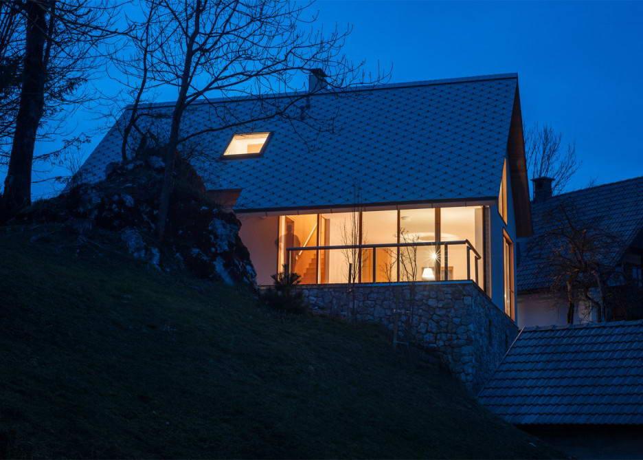 Загородный дом в альпийской деревне в Словении
