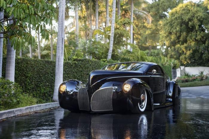 Lincoln Zephyr Scrape - культовый кастомный автомобиль из Америки