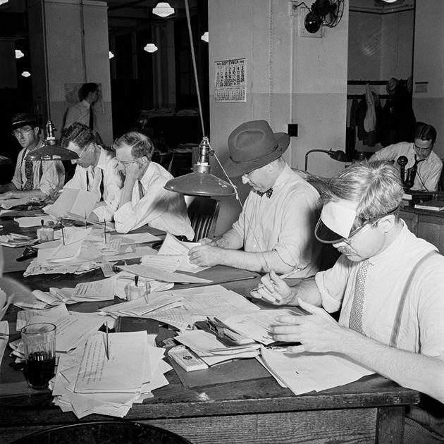 Как печатались газеты в годы Второй мировой войны