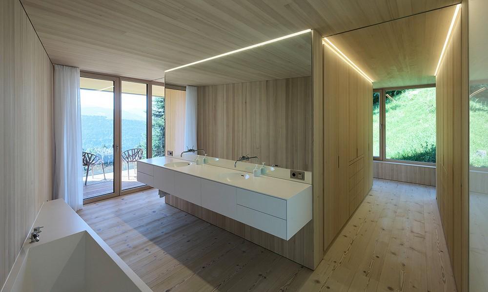 Дом над Рейнской долиной в Австрии