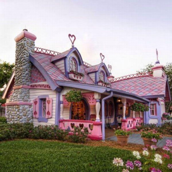 Домики из сказок в реальном мире