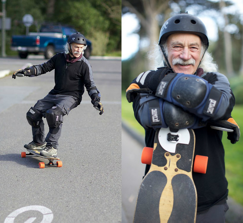 Не стареют душой пенсионеры