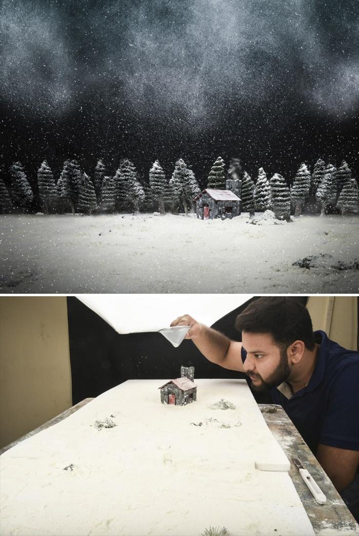 Впечатляющие снимки из самодельных макетов от Вацала Катарии
