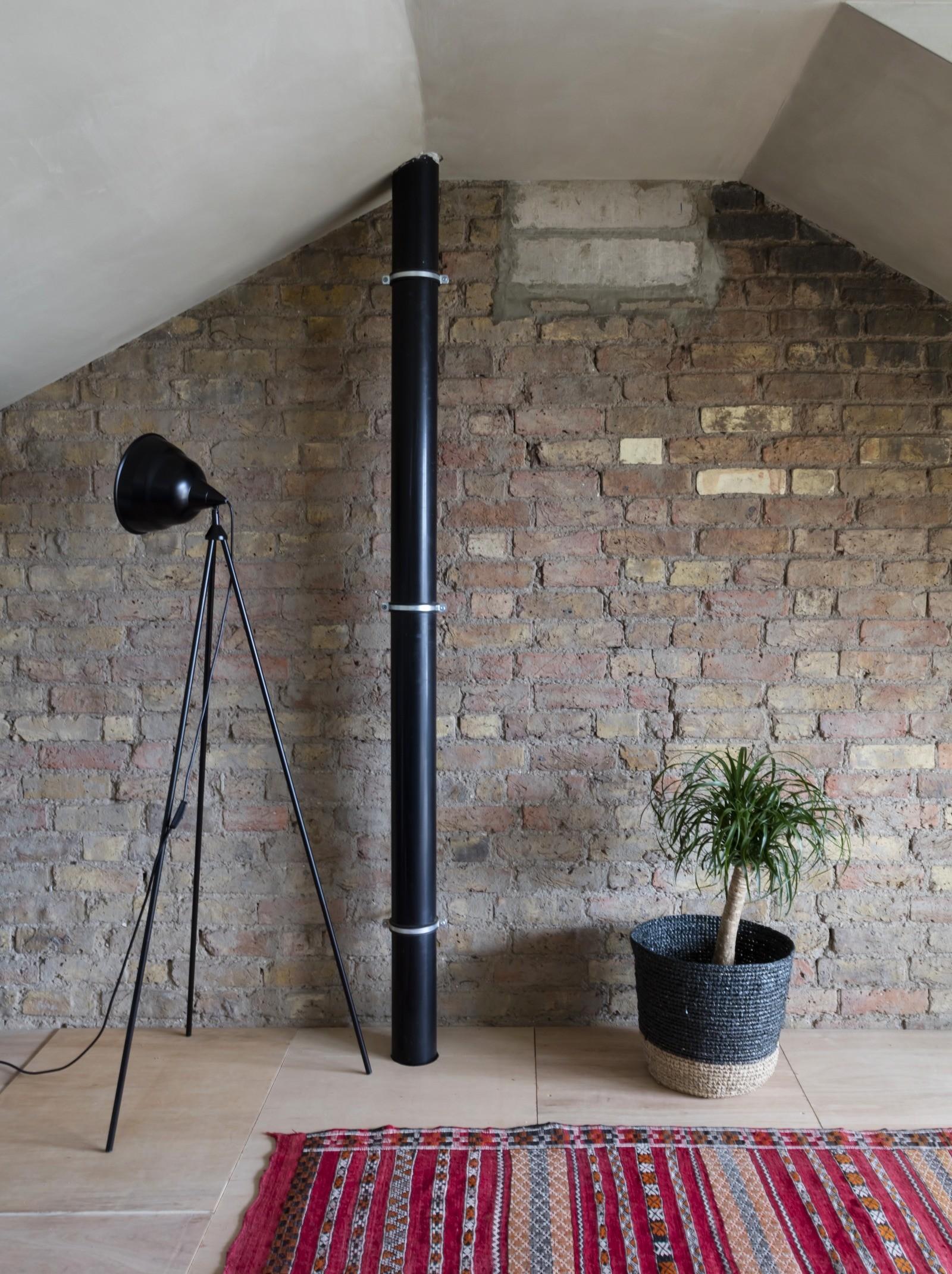 Квартира с глиняными стенами в Лондоне