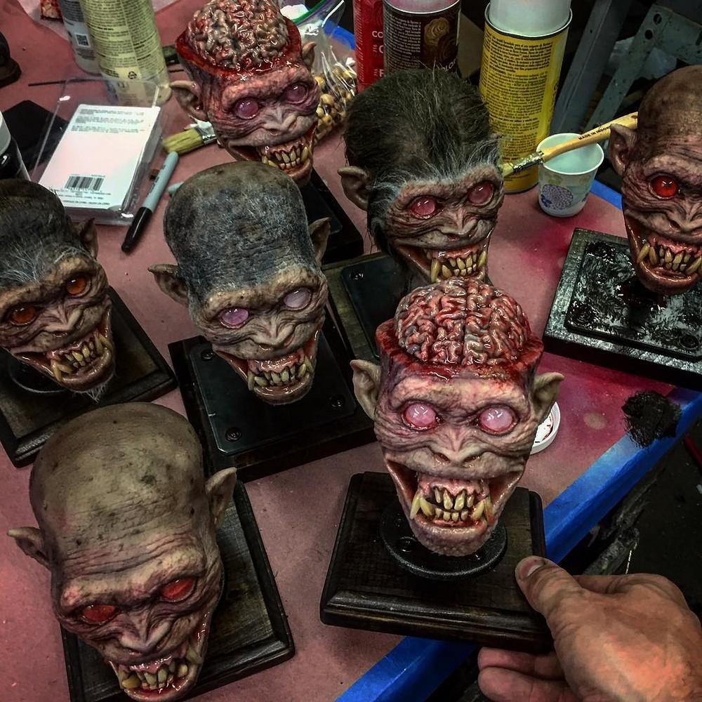 Жуткие маски от Фрэнка Ипполито
