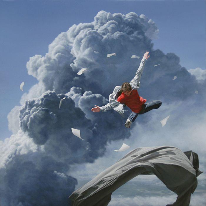 Фотореализм с сюрреализмом от Джоэла Рея