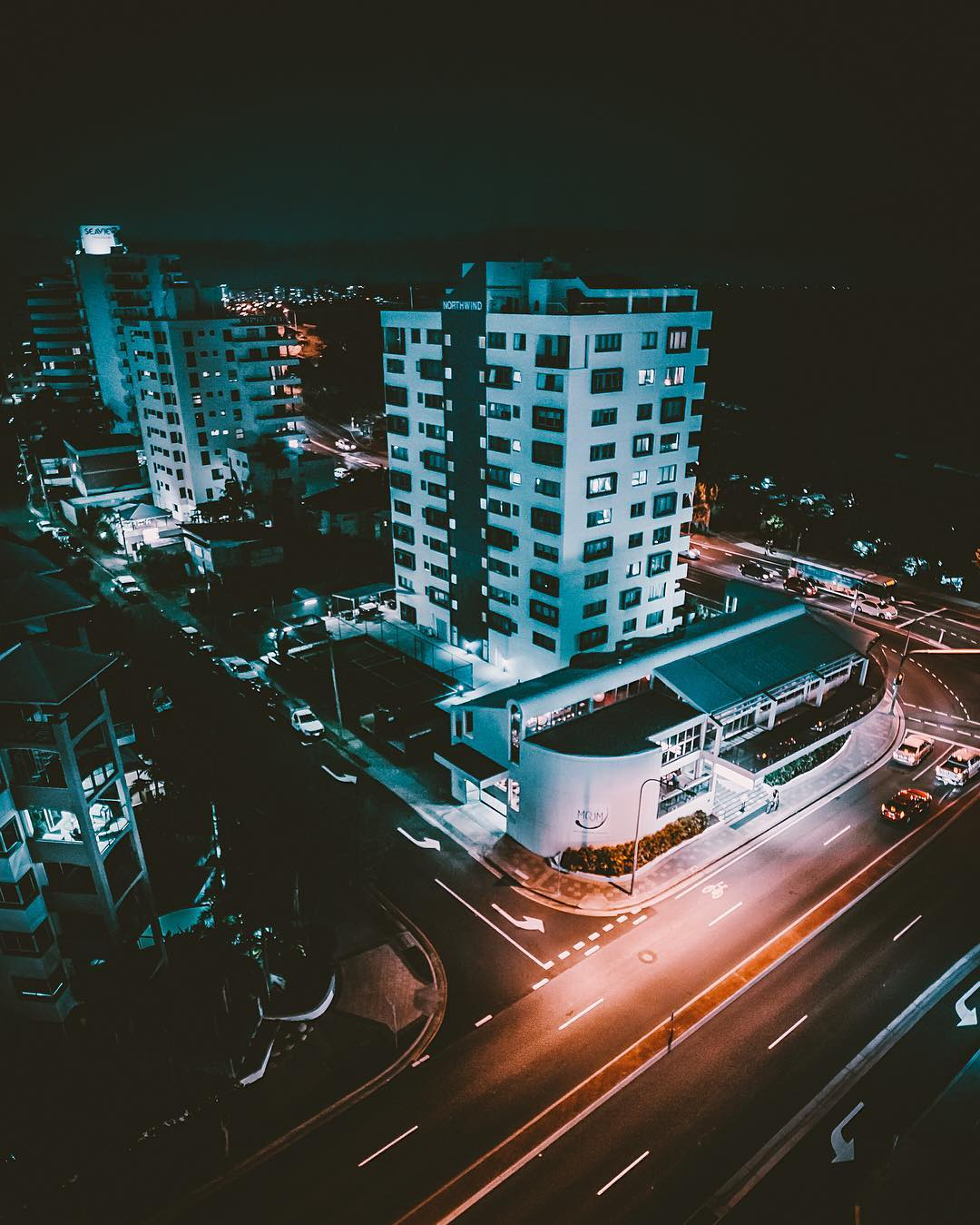 Красивые городские пейзажи из Instagram Vincent Cogliandro