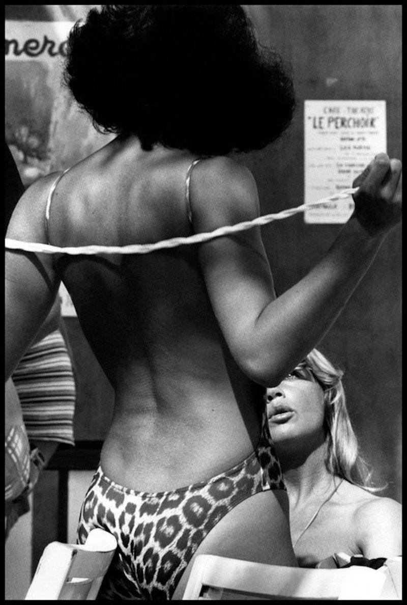 Лето 1978 на пляжах Сен-Тропе с Эллиоттом Эрвиттом