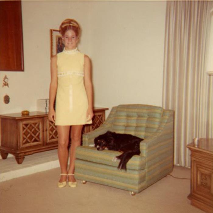 Оригинальные прически 60-х годов XX столетия