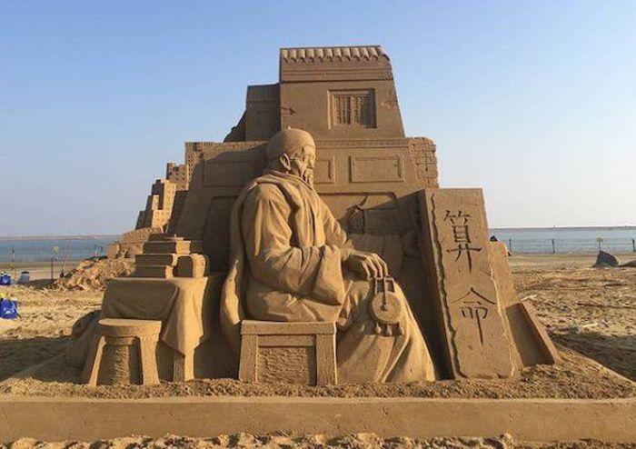 Песочные скульптуры от Тосихико Хосаки