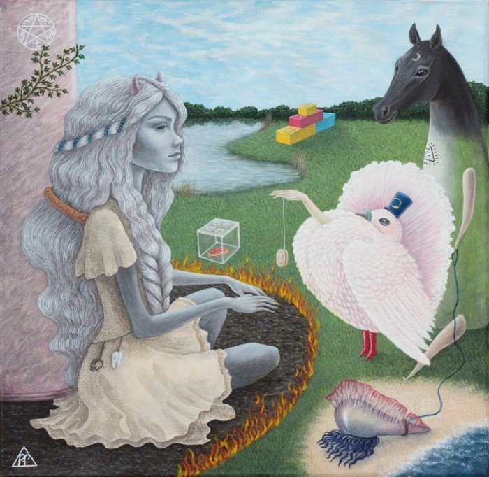 Популярный сюрреализм от Полины Шелест