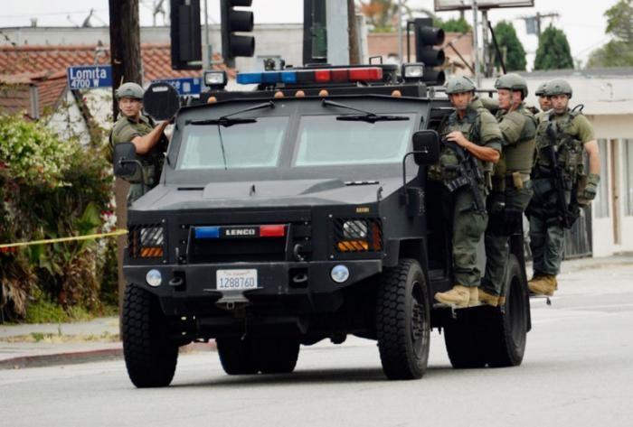 Броневики на базе серийных внедорожников Ford