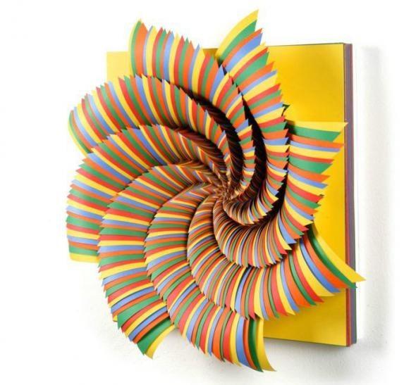 Бумажное искусство дизайнера Jen Stark