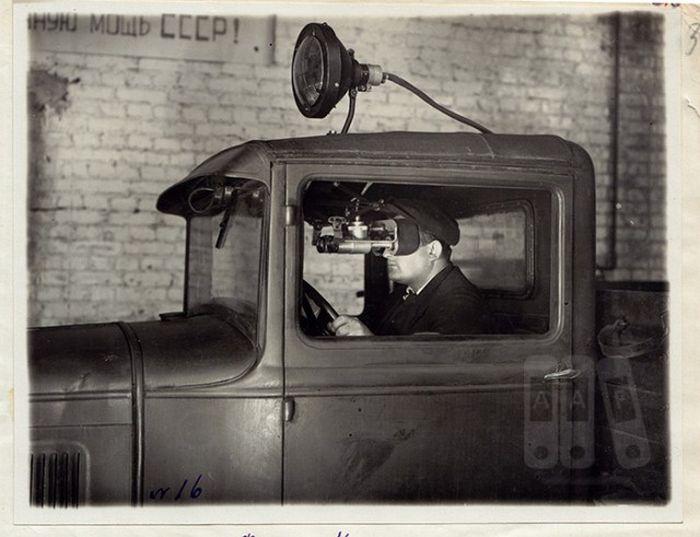 Первые советские приборы ночного видения