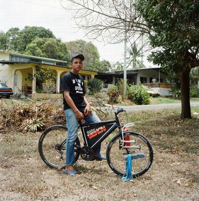 Тюнингованные велосипеды в Панаме