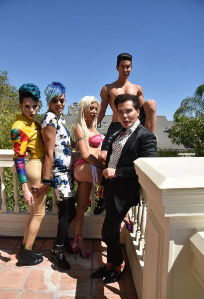 Участники нового сезона реалити-шоу Plastics of Hollywood