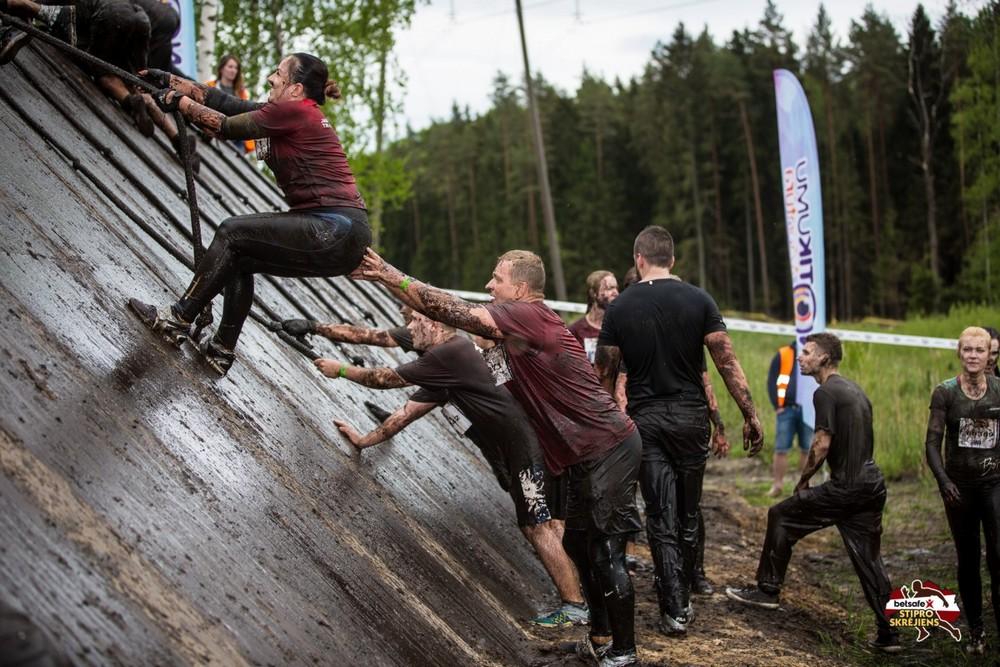 Забег сильных в Латвии