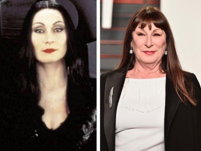 Актеры Семейки Аддамс 25 лет спустя