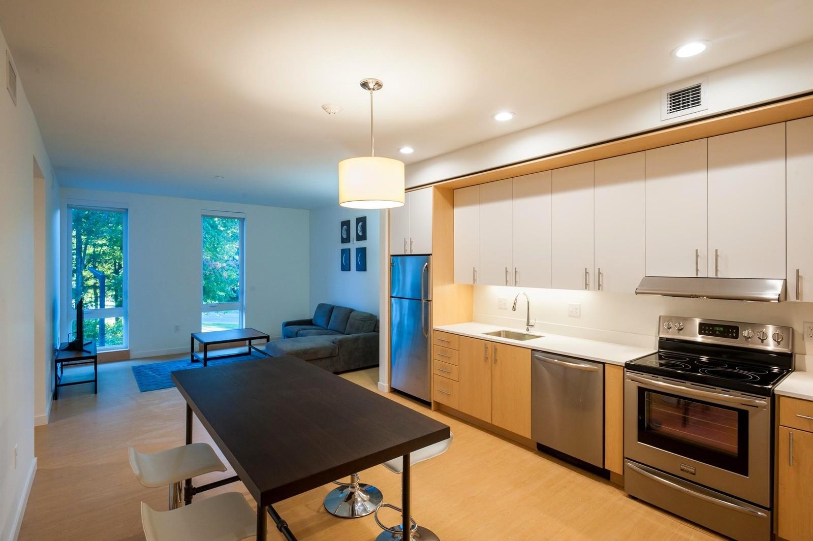 Общежития в Массачусетсе, США