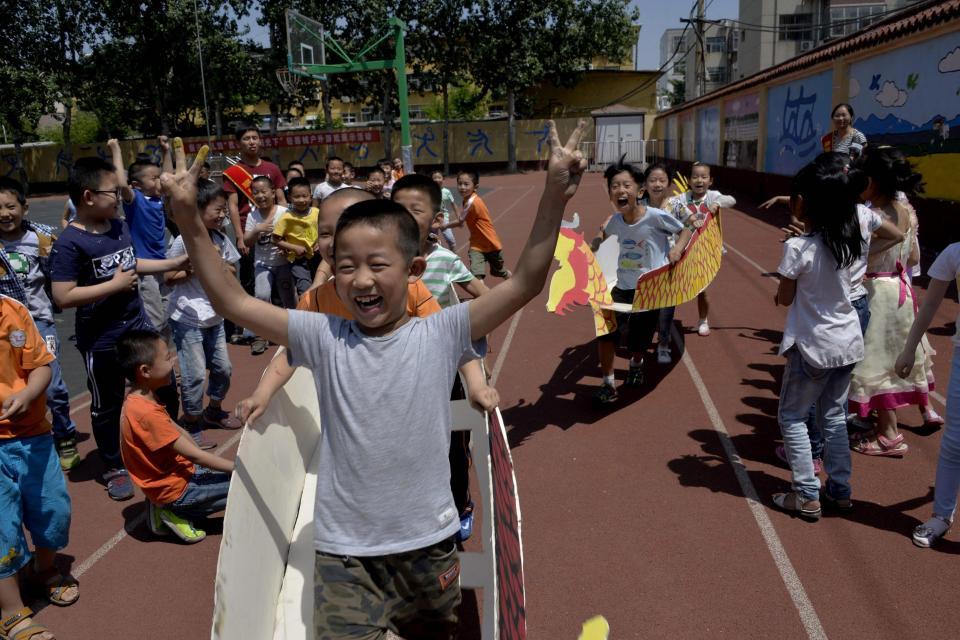 Китайский фестиваль лодок-драконов