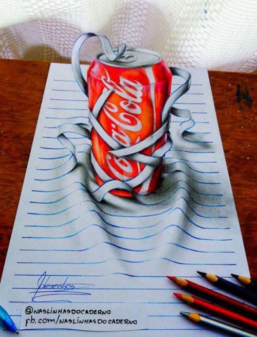Невероятные 3D-рисунки от Жоао Карвальо