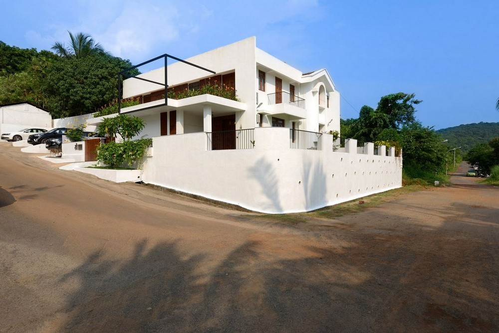 Частная резиденция на Гоа