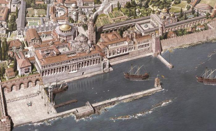 Константинополь с IV по XIII века в рисунках Антуана Хелберта