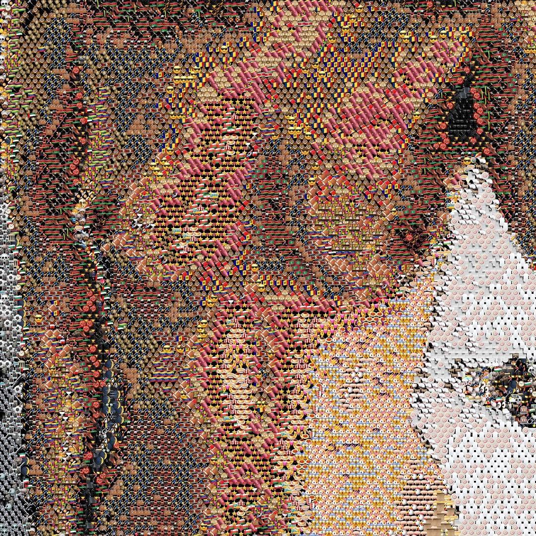 Необычные эротические картины, созданные с помощью эмодзи