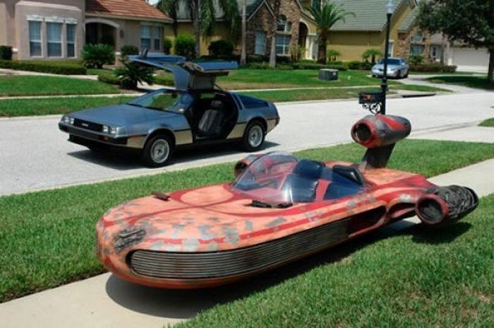 Удивительные тюнингованные автомобили