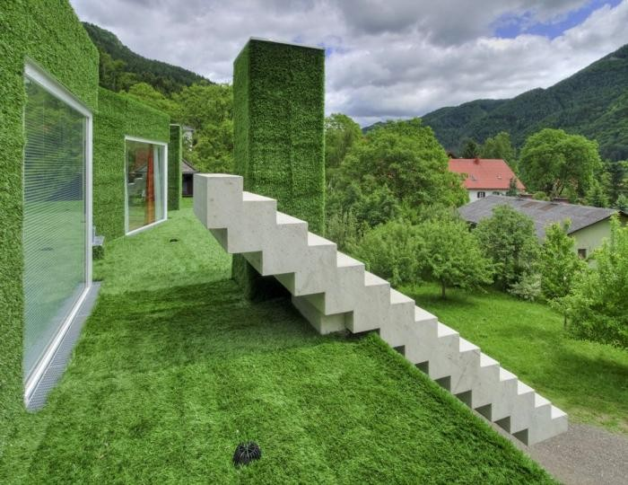Зеленый дом в Австрии