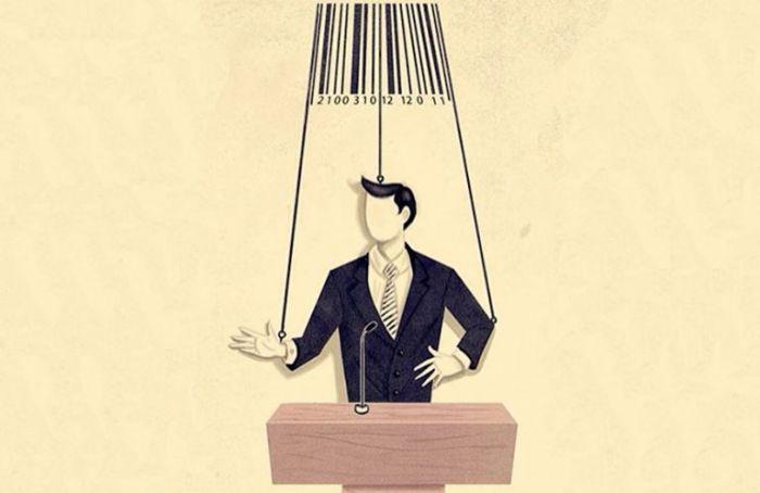 Карикатуры, отражающие современную жизнь