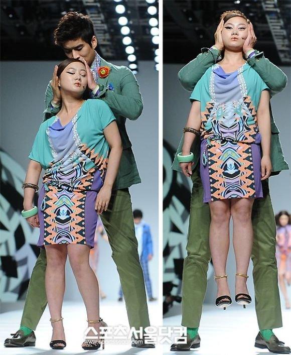Странный модный показ