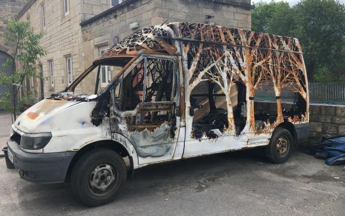 Уникальный фургон стал декорацией фестиваля Kendal Calling