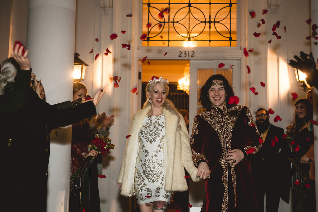 Экстравагантная свадьба вампиров в США