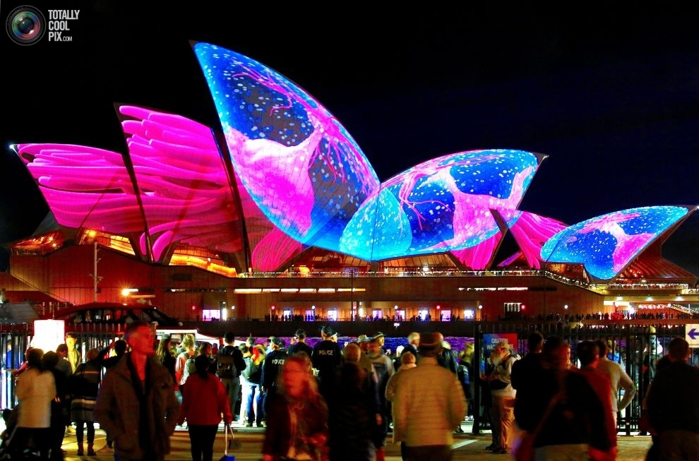 Ежегодный австралийский фестиваль музыки и света