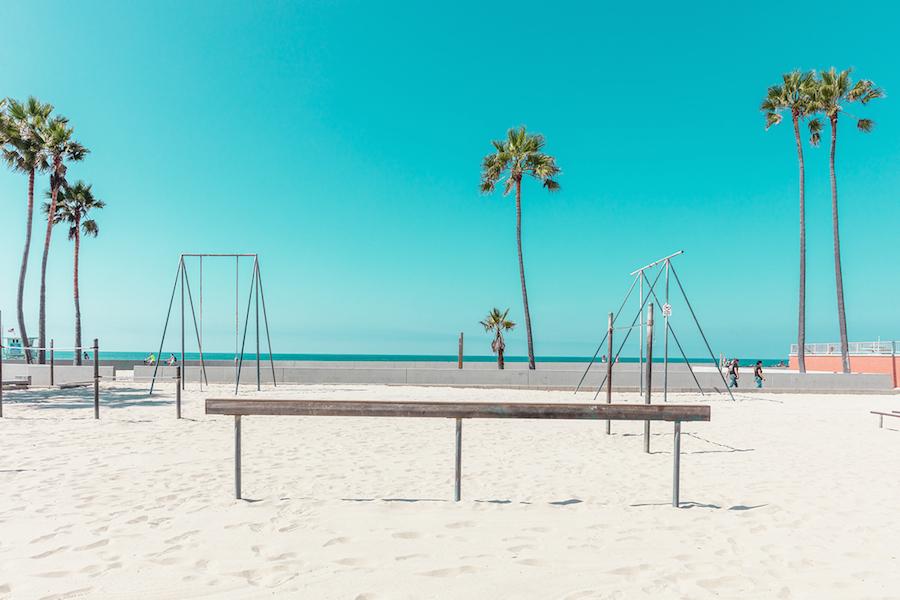 Калифорния в пастельных тонах от Людвига Фавра