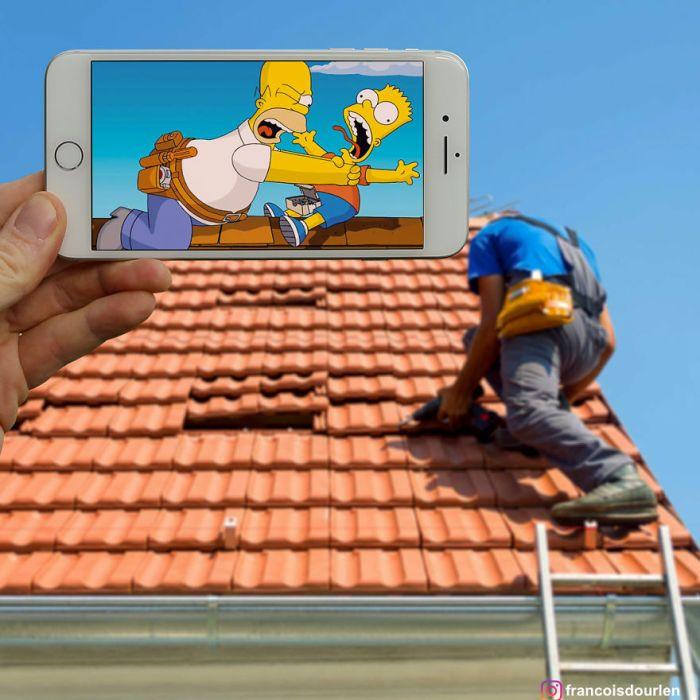 Симпсоны в реальной жизни