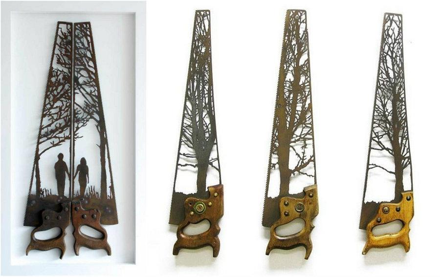 Скульптуры из металлолома от Дэна Роулингса